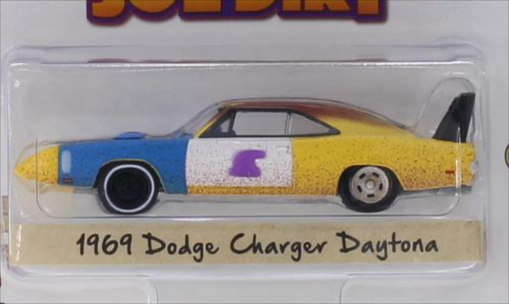 Dodge Charger Daytona 1/64 Greenlight 1969 diecast model cars