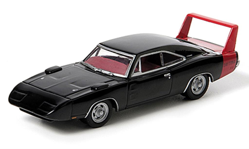 Dodge Charger Daytona 1/64 Greenlight red/black 1969 diecast