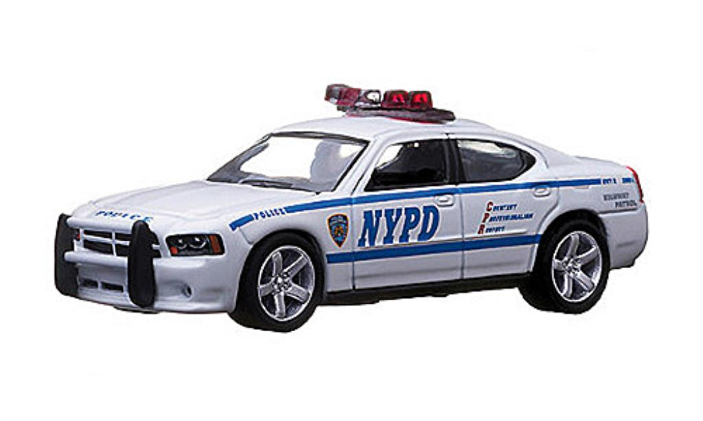 Dodge Charger 1/64 Greenlight NYPD - New York Police Department Polizei (USA) 2009 diecast