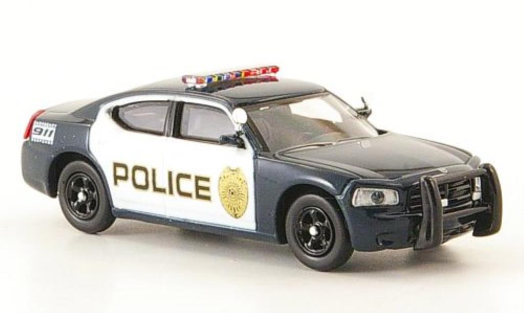 Dodge Charger Police 1/87 Ricko bleu Polizei (US) diecast
