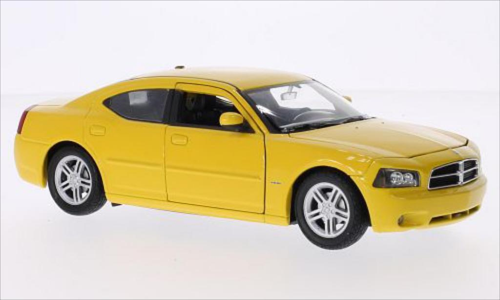 Dodge Charger 1/24 Welly R/T 2006 diecast model cars