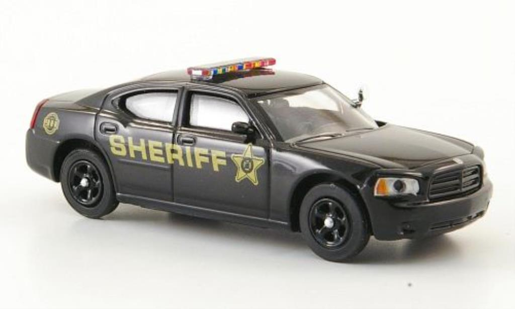 Dodge Charger 1/87 Ricko R/T Sheriff black Polizei (US) diecast