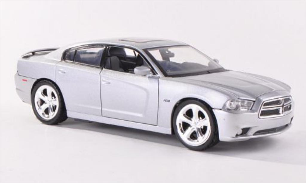 Dodge Charger 1/24 Motormax R/T grise 2011 miniature