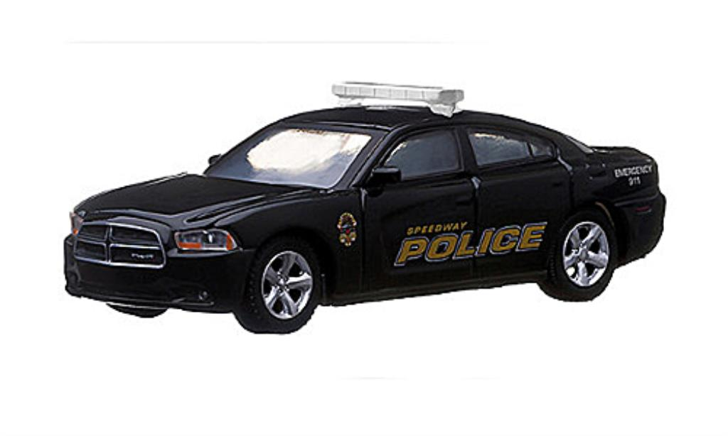 Dodge Charger 1/64 Greenlight Speedway Indiana Police Polizei (USA) 2012 miniature