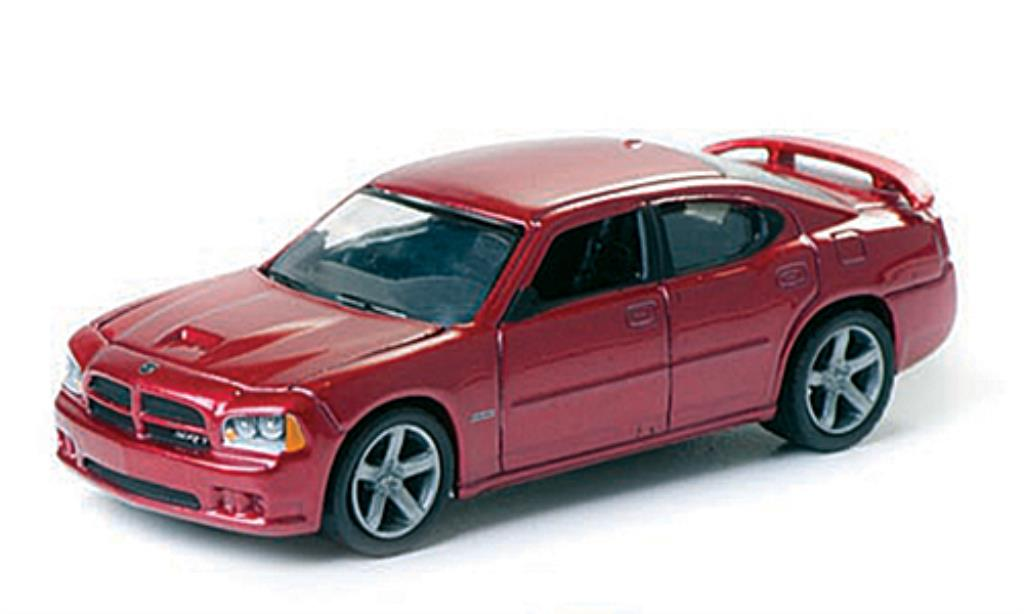 Dodge Charger 1/64 Greenlight SRT8 rosso 2006 miniatura