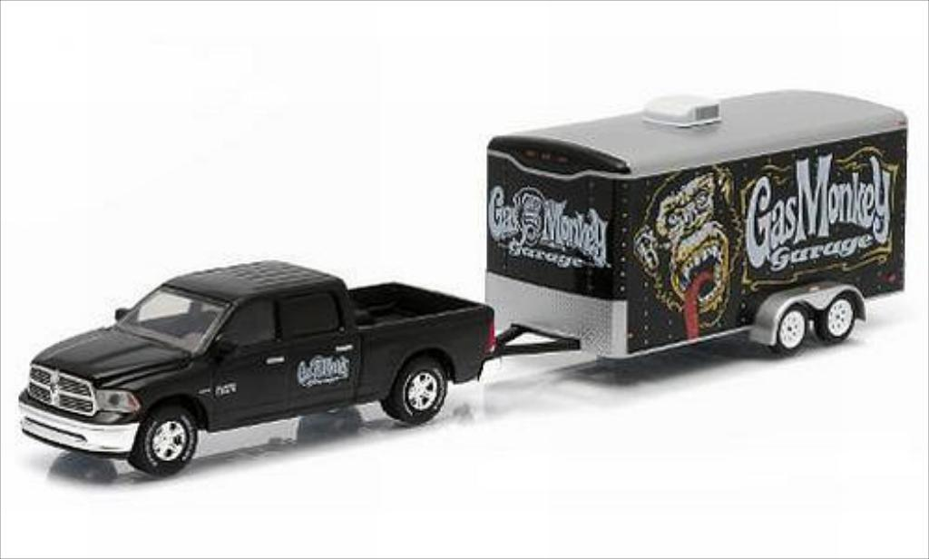 Dodge RAM 1/64 Greenlight 1500 Gas Monkey Garage 2014 miniature