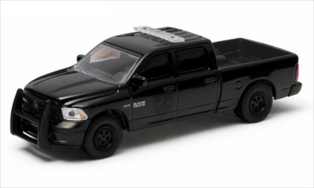 Dodge RAM 1/64 Greenlight 1500 noire/Dekor 2014 miniature