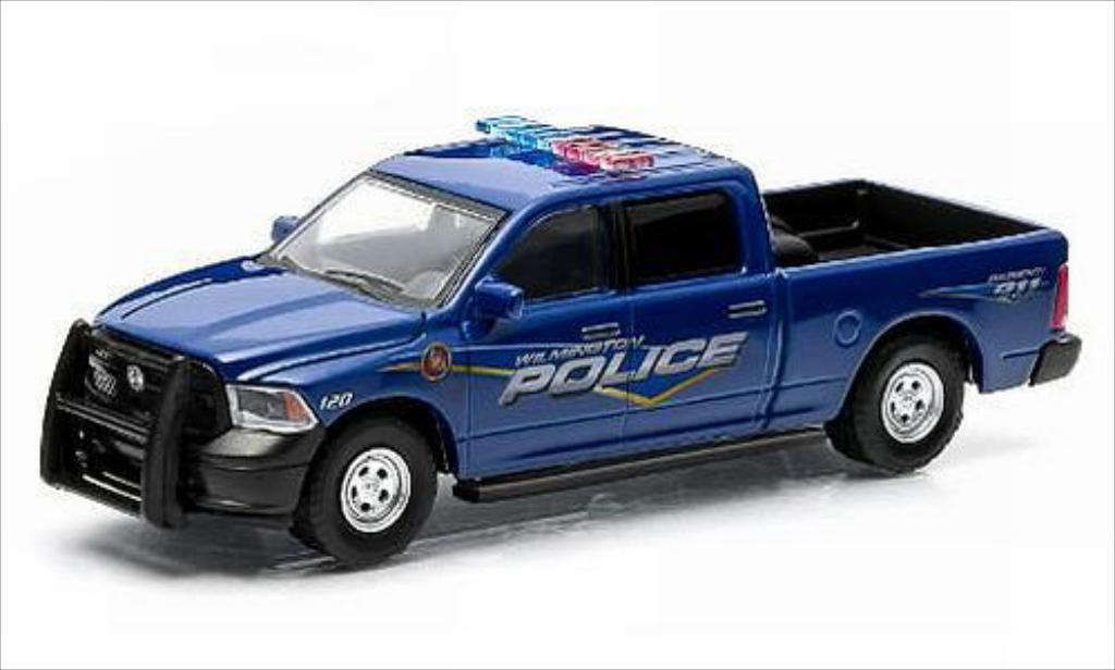 Dodge RAM 1/64 Greenlight 1500 Wilmington Police 2014 miniature