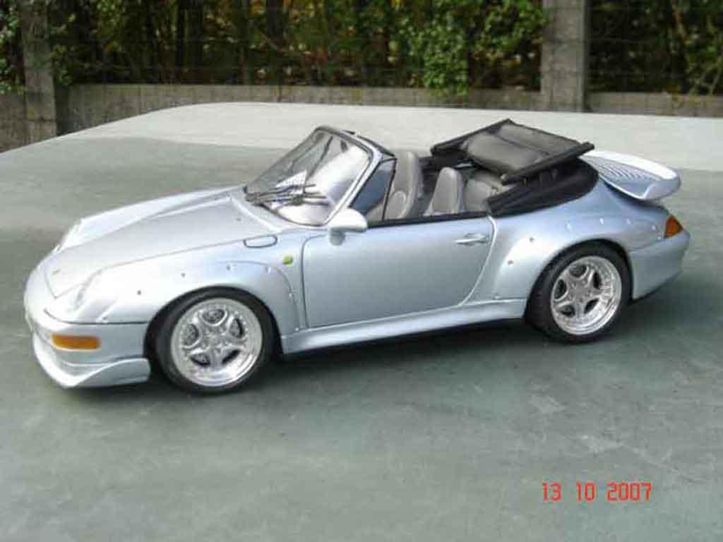 Porsche 993 GT2 1/18 Ut Models cabriolet diecast