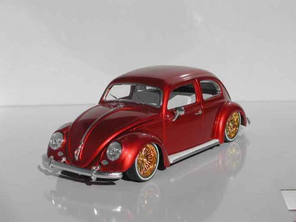 Volkswagen Kafer 1/18 Burago cox ovale low rider diecast model cars