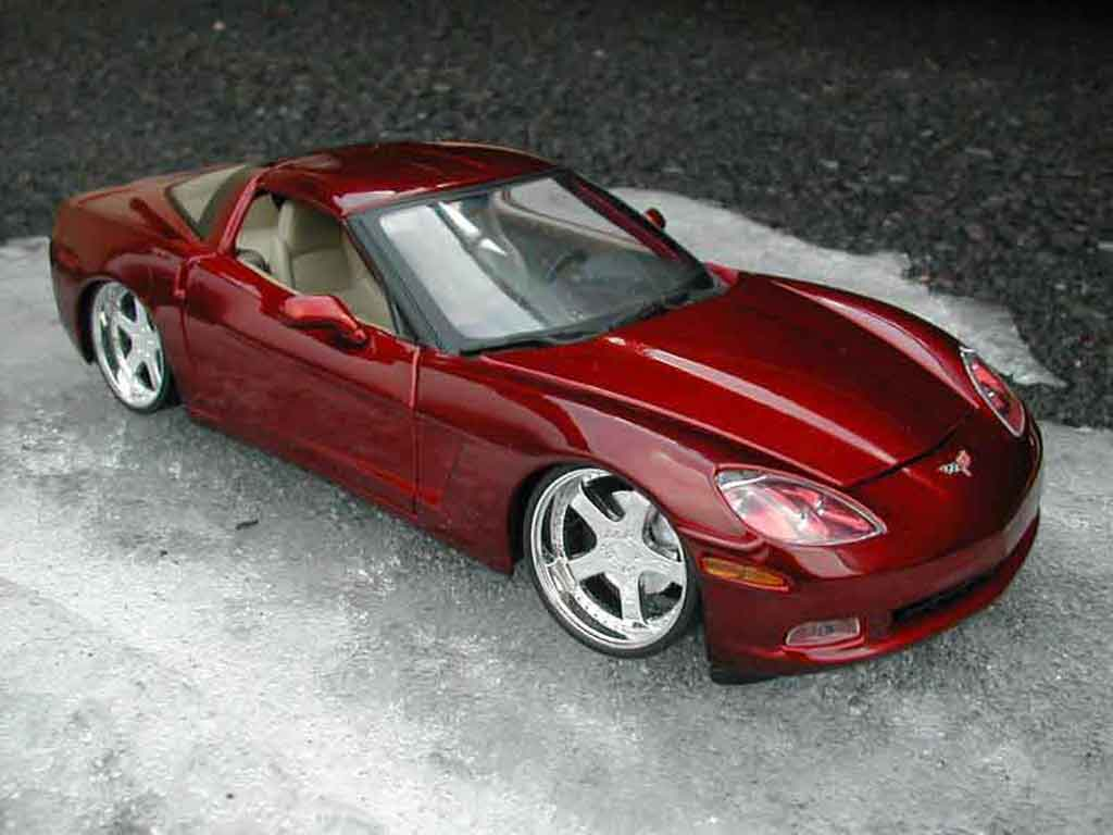 Chevrolet Corvette C6 1/18 Maisto g-unit miniature