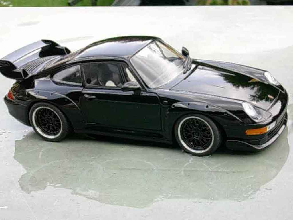 Porsche 993 GT2 1/18 Ut Models black evo diecast model cars