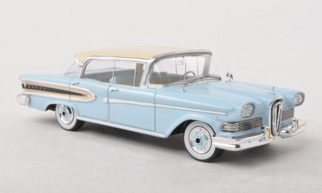Edsel Citation 1/43 Spark 4-Door Hardtop Sedan bleu/beige 1958 miniature