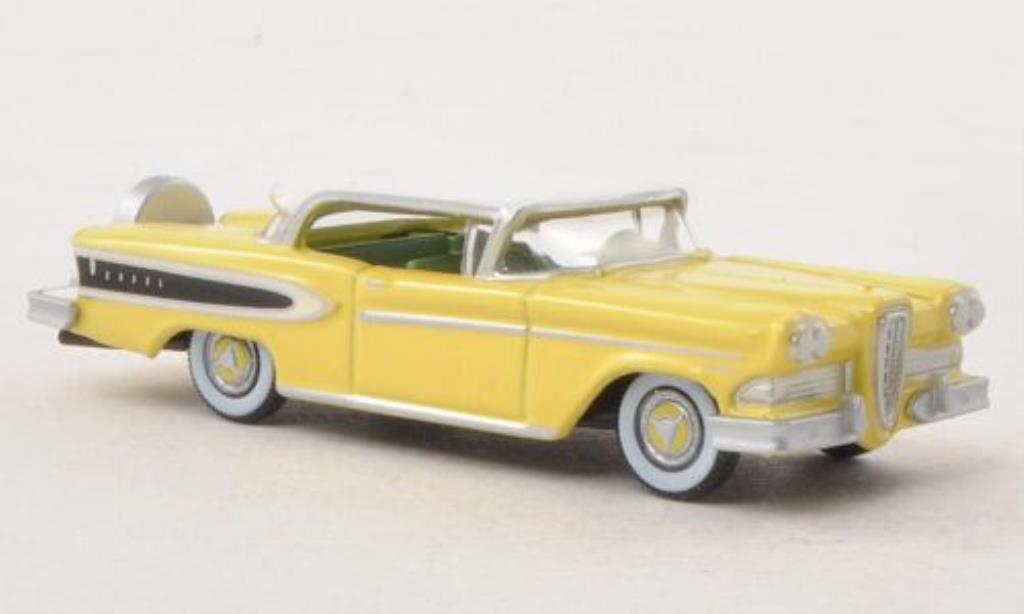 Edsel Citation 1/87 Oxford jaune/blanche 1958 miniature