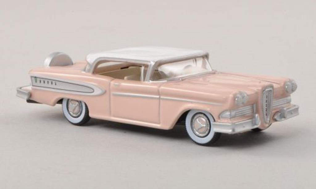 Edsel Citation 1/87 Oxford pink/blanche 1958 miniature