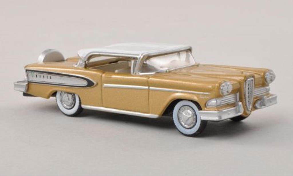 Edsel Citation 1/87 Oxford beige/blanche 1958 miniature