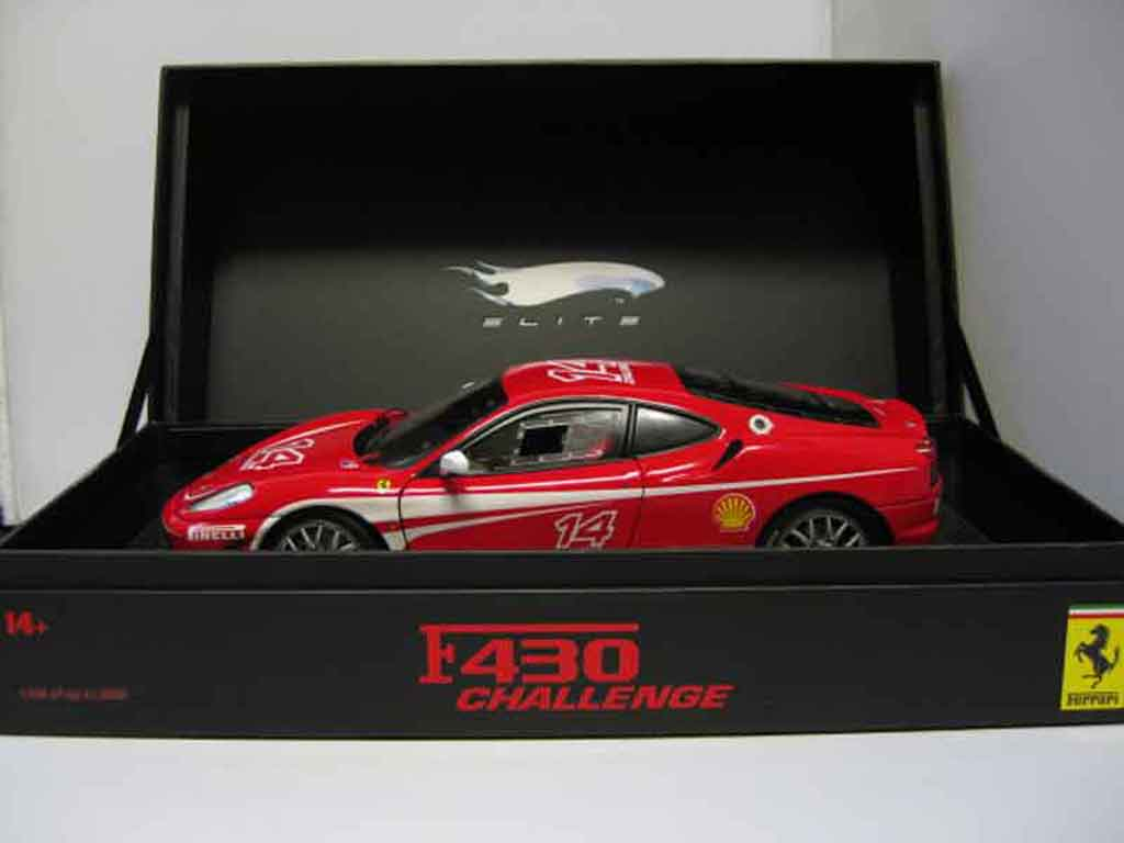Ferrari F430 Challenge 1/18 Hot Wheels Elite spezial edition limited of 2006 miniature