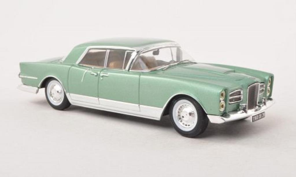 Facel Vega Excellence 1/43 IXO verte 1960 miniature