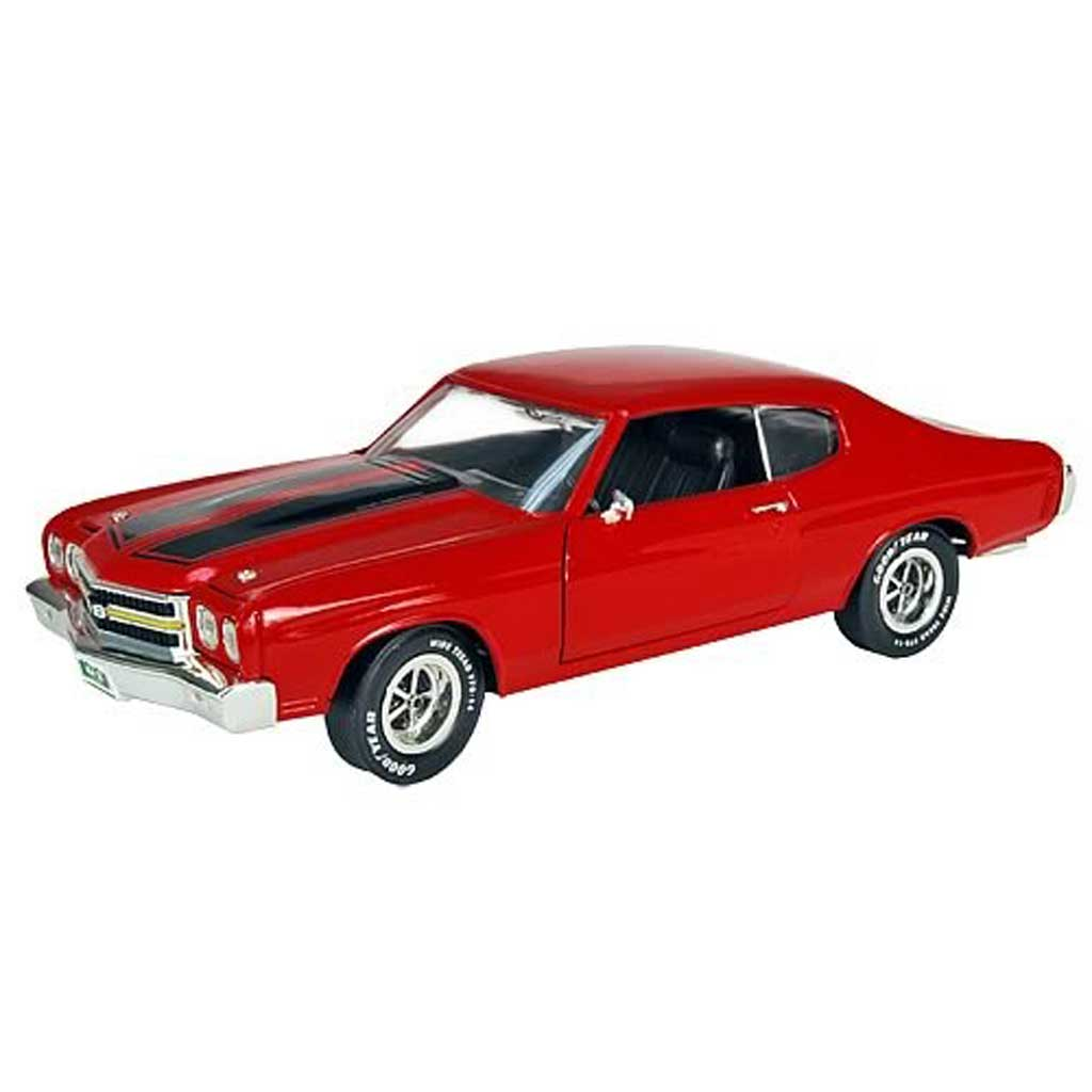 Chevrolet Chevelle 1970 1/18 Ertl rouge Fast and Furious 2 miniature