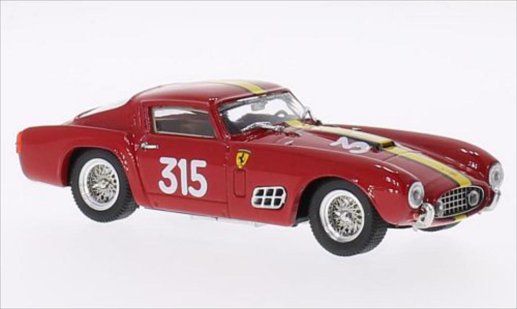 Ferrari 250 GT 1/43 Brumm Berlinatta PL No.315 Ecurie Francorchamps Giro di Sicilia 1957 coche miniatura