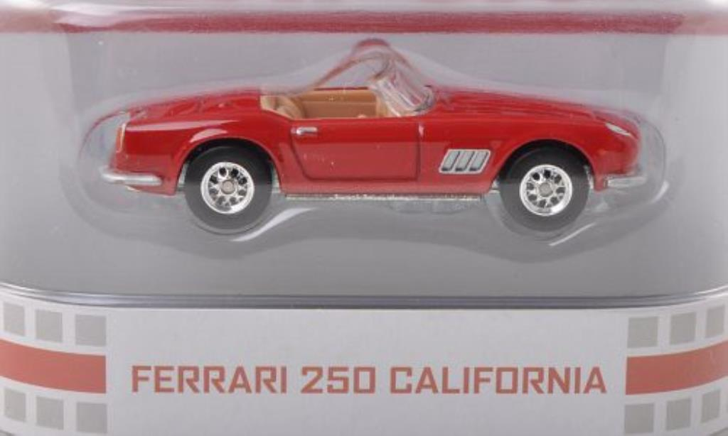 Ferrari 250 GT 1/64 Hot Wheels California Spyder rouge Ferris macht bleu