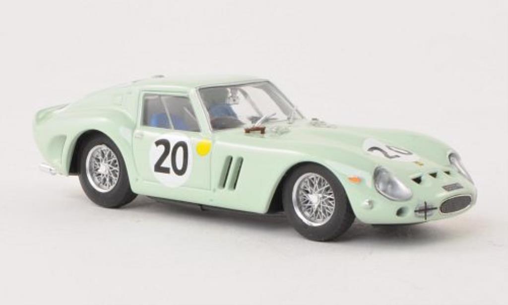 Ferrari 250 GTO 1/43 Brumm No.20 U.D.T. Laystall 24h Le Mans 1962 /M.Gregory miniature