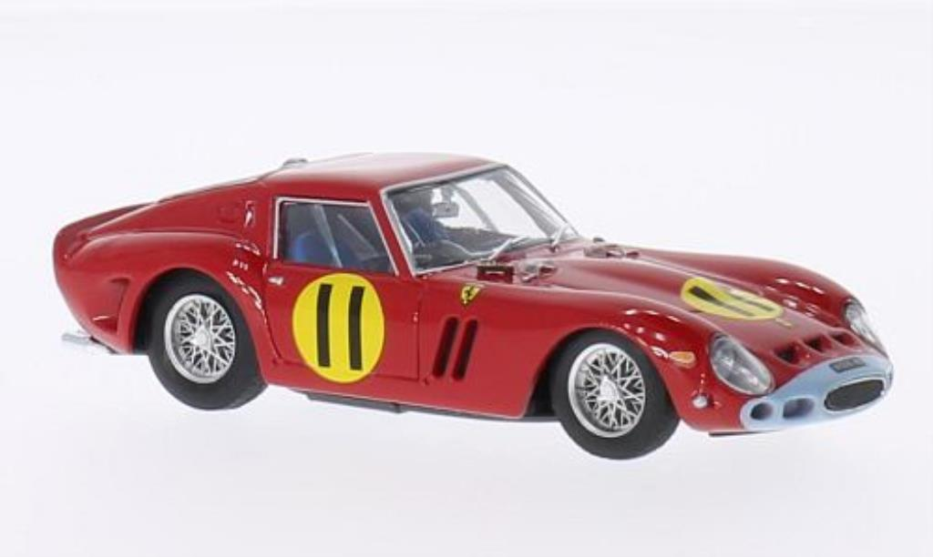 Ferrari 250 GTO 1/43 Brumm RHD No.11 Scuderia Ferrari Tourist Trophy Goodwood 1963 miniature