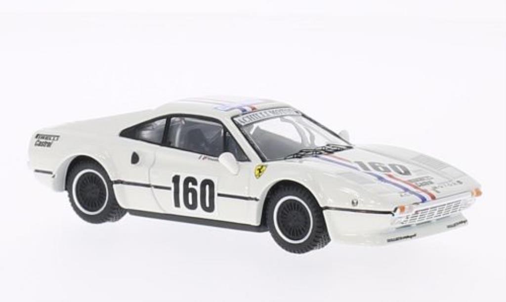 Ferrari 308 GTB 1/43 Best No.160 Achilli Motors Campionato Italiano Velocita 1982 /M.Finotto miniature