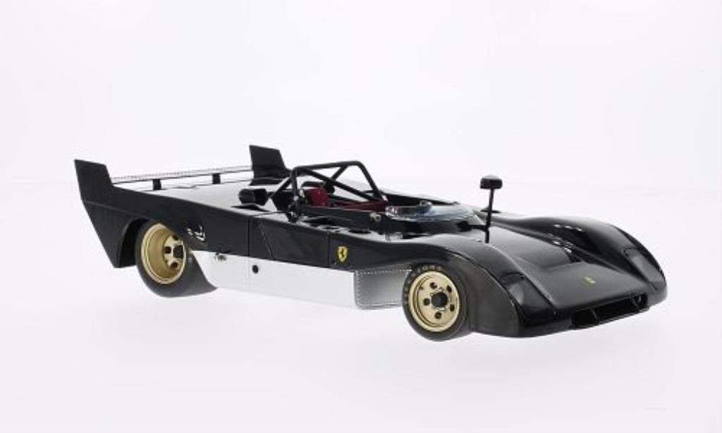 Ferrari 312 P 1/18 GMP rougeotype noire miniature
