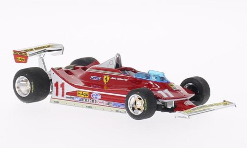 Ferrari 312 T4 1/43 Brumm No.11 GP Italien 1979 diecast