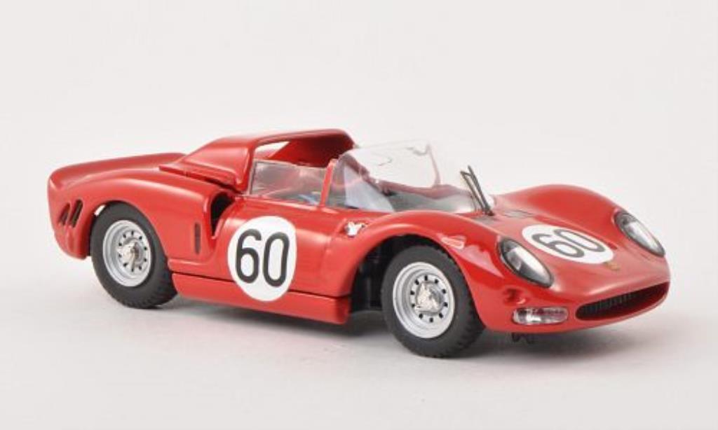 Ferrari 330 P2 1/43 Best No.60 1000km Monza 1965 /Scarfiotti miniatura