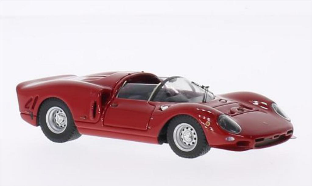Ferrari 365 P2 1/43 Tecnomodel rouge RHD 24h Le Mans 1966 miniature