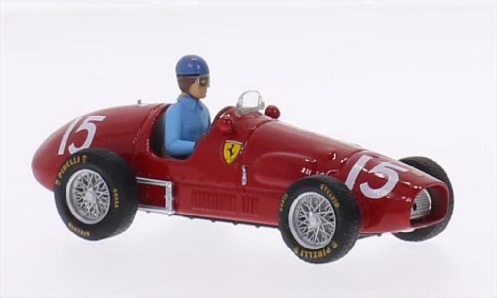 Ferrari 500 F2 1/43 Brumm No.15 Scuderia GP Grossbritannien 1952 coche miniatura