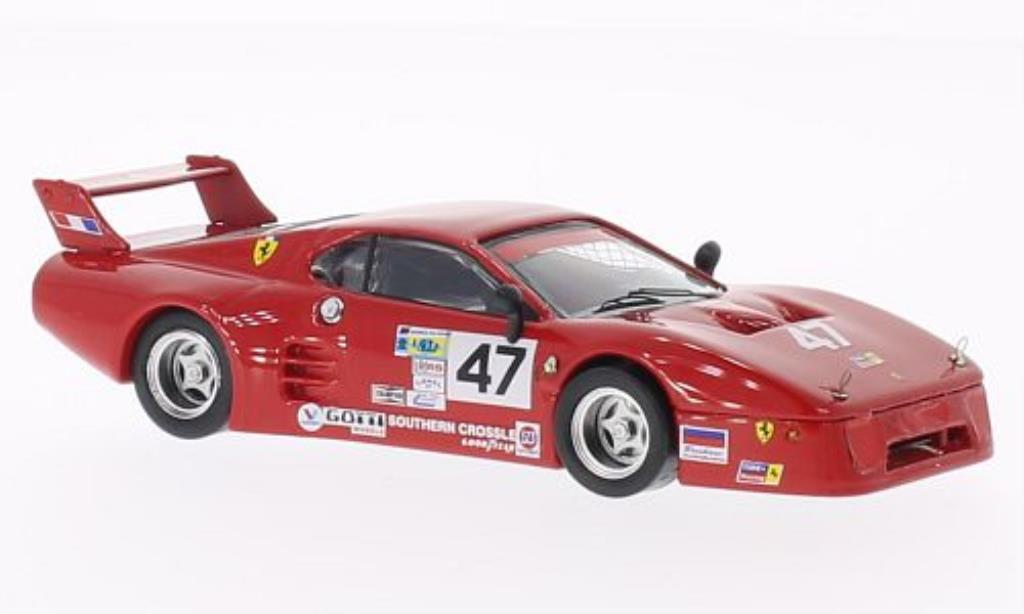 Ferrari 512 BB 1/43 Best LM No.47 Tide Racing Daytona 1982 /De modellautos