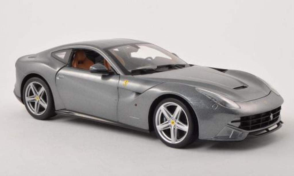 Ferrari F1 1/18 Hot Wheels 2 Berlinetta grigio modellino in miniatura