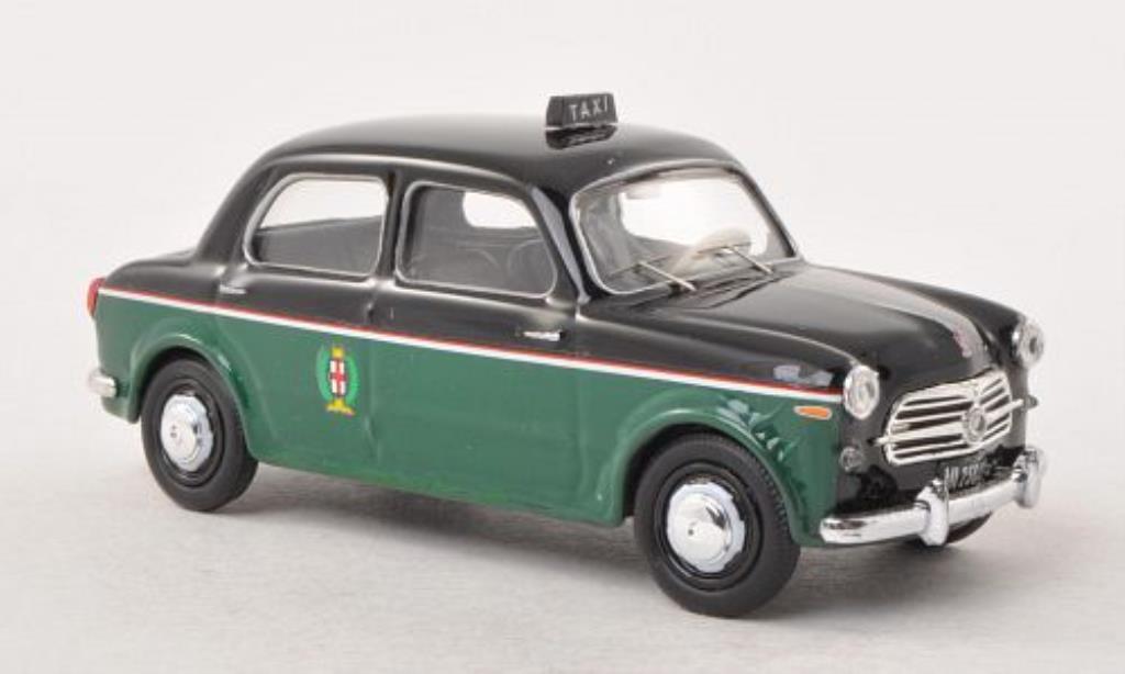 Fiat 1100 1/43 Rio Taxi Mailand mit Fahrerfigur 1956 diecast
