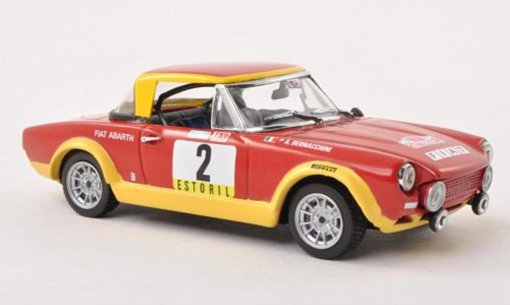 Fiat 124 Abarth 1/43 Vitesse No.2 Rally Portugal 1974 /A.Bernacchini miniature
