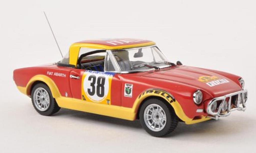 Fiat 124 Abarth 1/43 Vitesse No.38 Safari Rally 1974 /I.Smith miniature