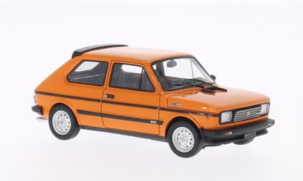 Fiat 127 Sport 1/43 Neo 70 HP orange 1980 miniature