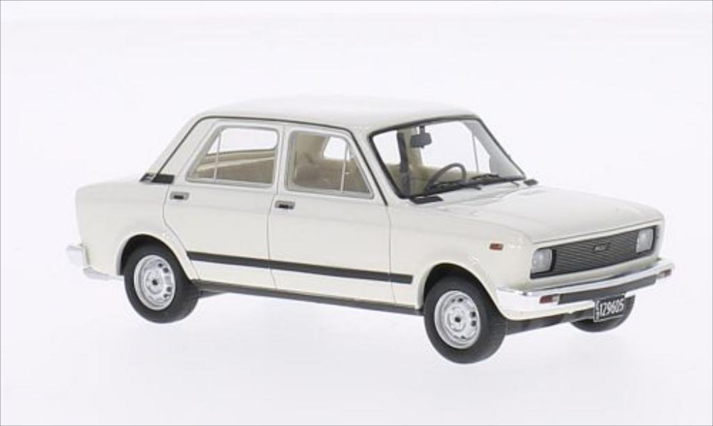 Fiat 128 1/43 Neo CL white Maradona 1982 diecast model cars
