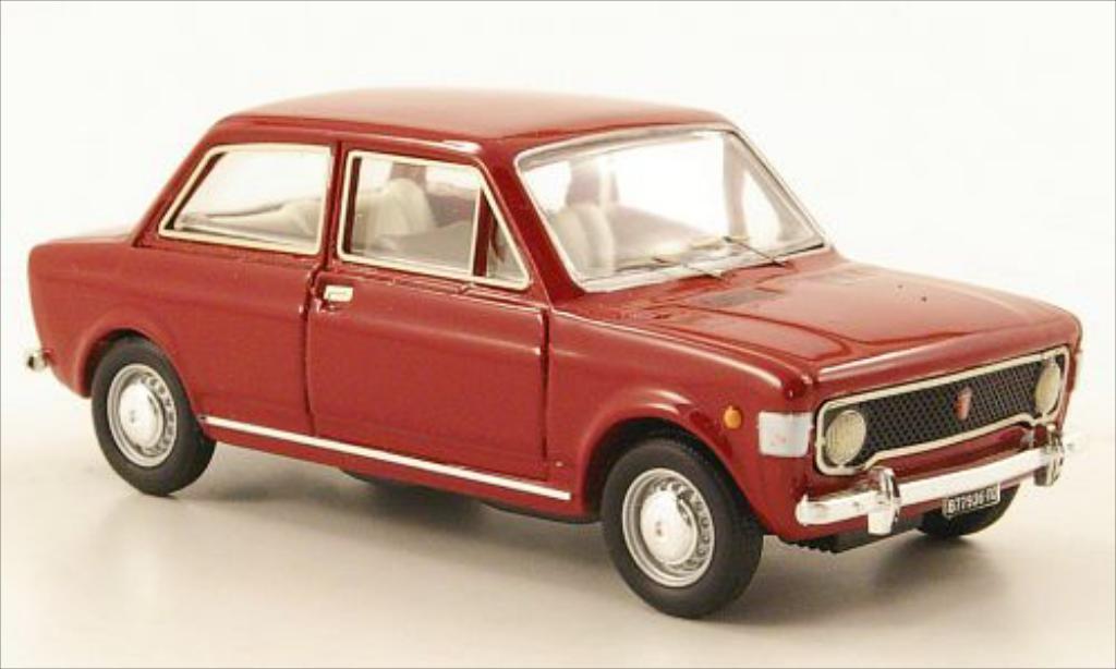 Fiat 128 1/43 Rio rouge 1969 miniature