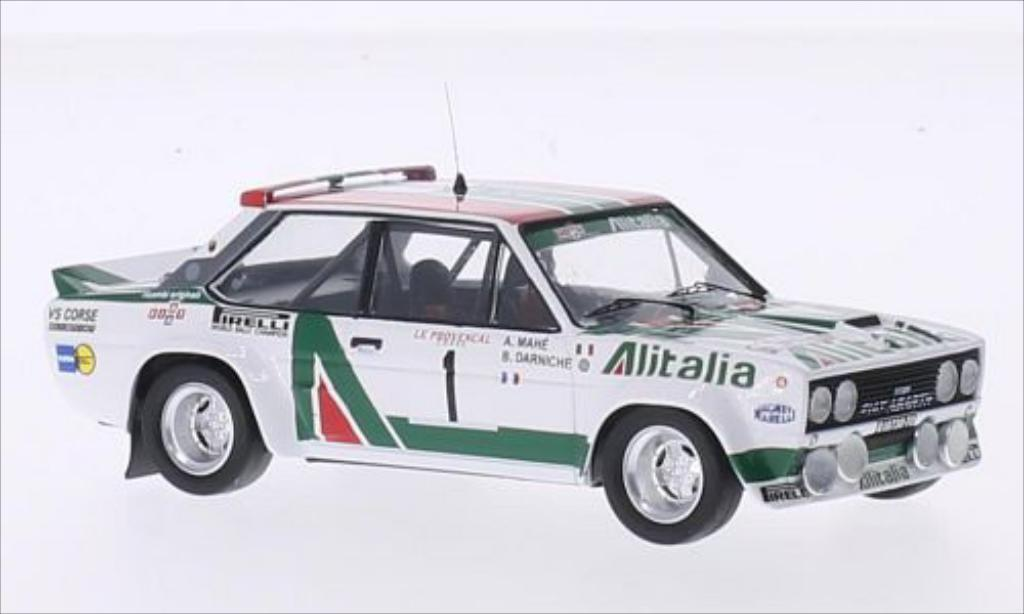 Fiat 131 Abarth 1/43 Trofeu No.1 VS Corse Alitalia Tour de Corse 1978 /A.Mahe diecast model cars