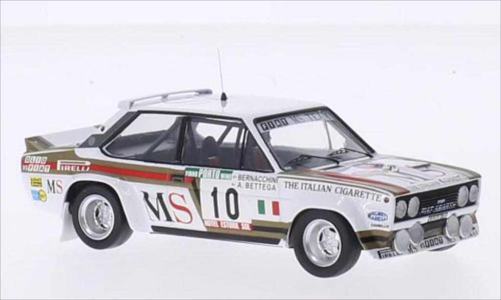 Fiat 131 Abarth 1/43 Trofeu No.10 Team MS MS Rallye WM Rallye Portugal 1980 /A.Bernacchini diecast model cars
