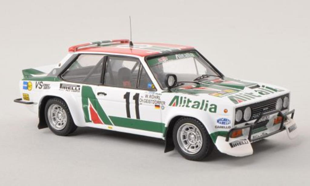 Fiat 131 Abarth 1/43 Trofeu No.11 Alitalia Safari Rally 1979 /Ch diecast model cars