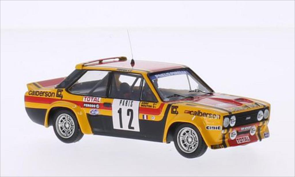 Fiat 131 Abarth 1/43 Trofeu No.12 Calberson Rallye WM Rally Monte Carlo 1980 /A.Arrii miniature