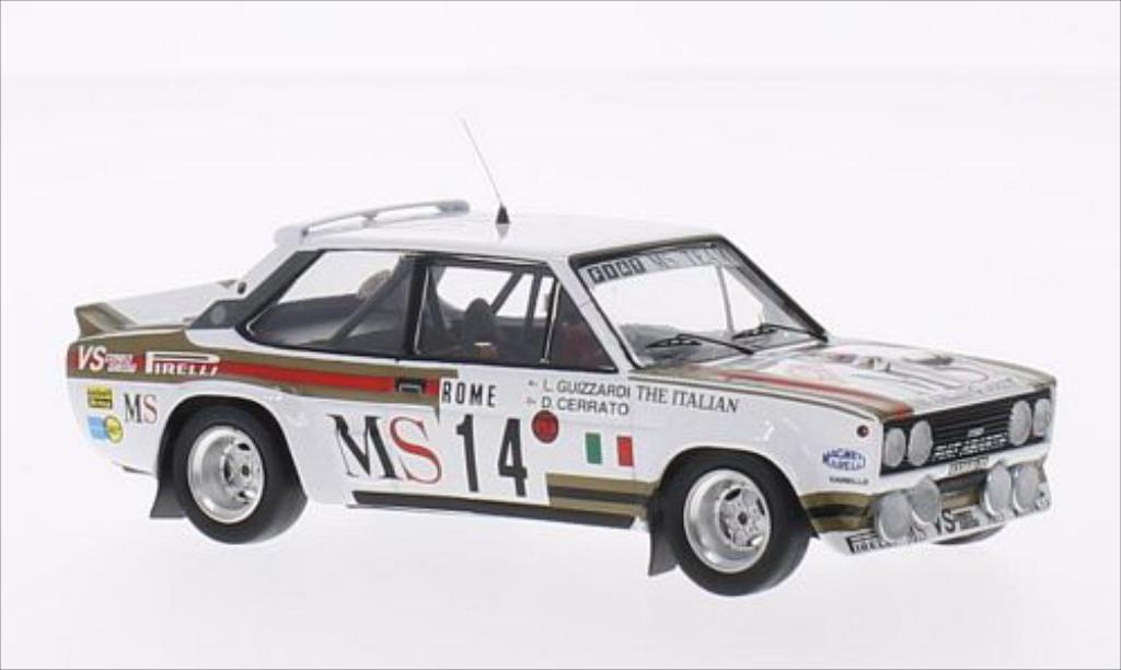 Fiat 131 Abarth 1/43 Trofeu No.14 MS Team MS Rallye WM Rallye Monte-Carlo 1981 /L.Guizzardi diecast model cars