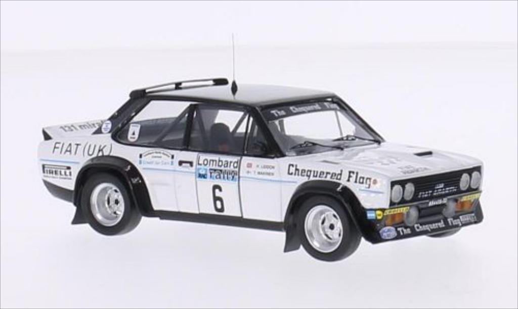 Fiat 131 Abarth 1/43 Trofeu No.6 Chequered Flag RAC Rallye 1977 /H.Liddon miniature