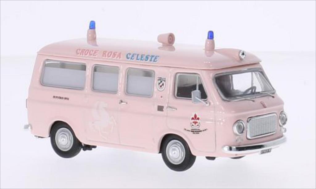 Fiat 238 1/43 Rio Cpink Rossa Celeste Milano diecast