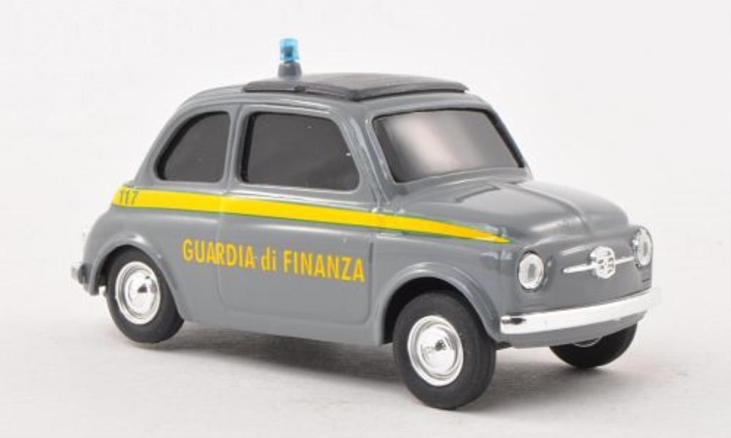 Fiat 500 1/43 Brumm Guardia di Finanza diecast