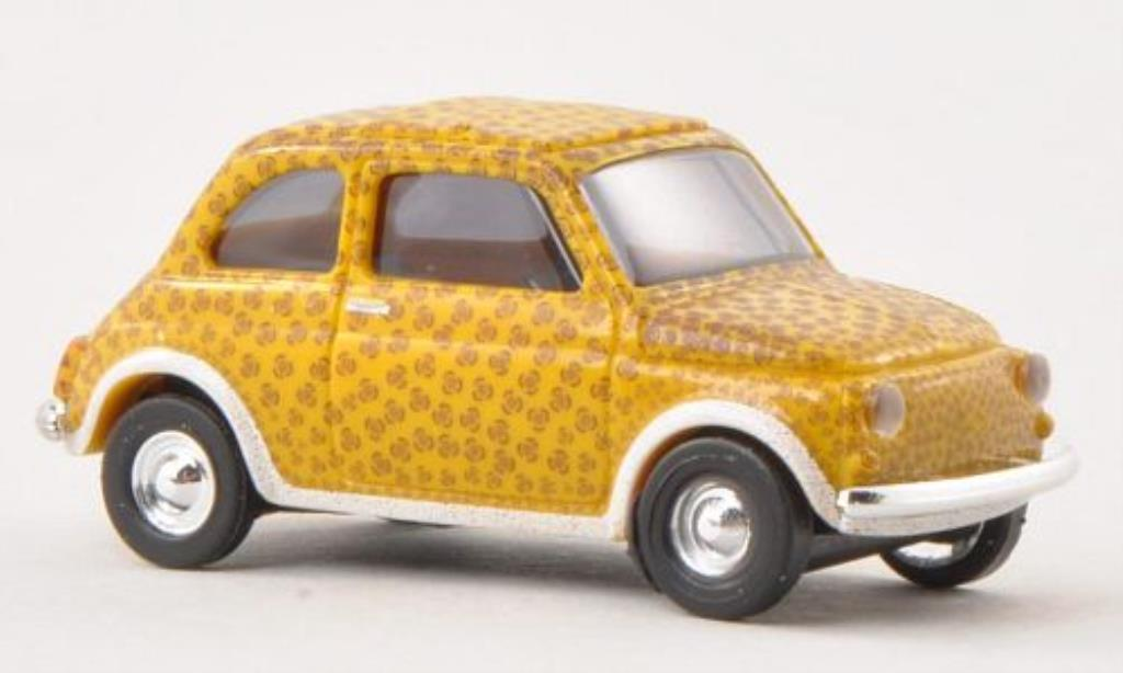 Fiat 500 1/87 Busch Leopard 1965 miniature